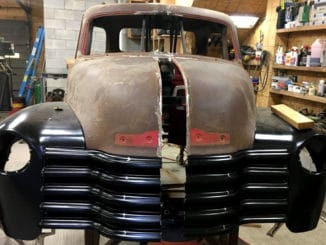 Chevy 3100 Truck Body SSR Chassis Swap