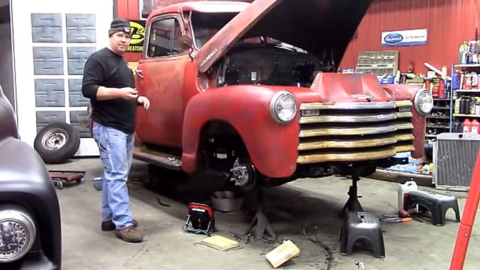 1953 Chevrolet 3100 Chassis Swap