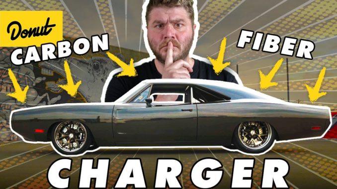 Full Carbon Fiber 950HP 1970 Dodge Charger