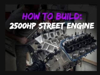 2,500hp Blown 528ci HEMI Street Engine