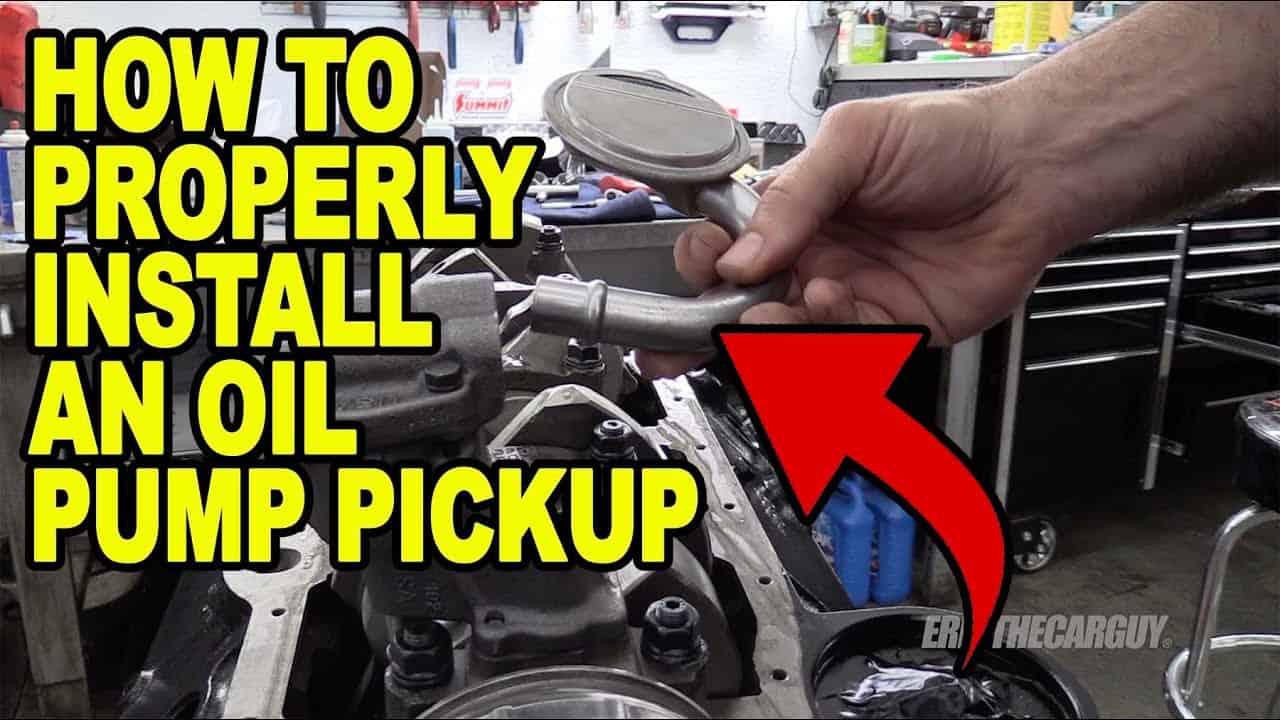 SBC Oil Pump Pickup