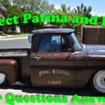 Protected and Preserved Patina or Rust Without Clear Coat