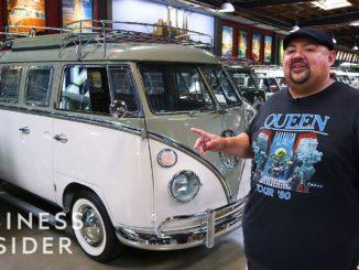 Gabriel Iglesias' Volkswagen Bus Collection