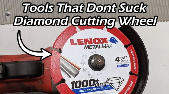Lenox Tools METALMAX Diamond Edge Cutoff Wheels