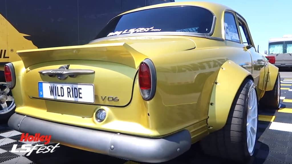1963 VO6 Volvo Amazon Rear