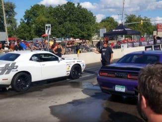 Roadkill Nights 2019 ~ Drag Racing on Woodward Ave