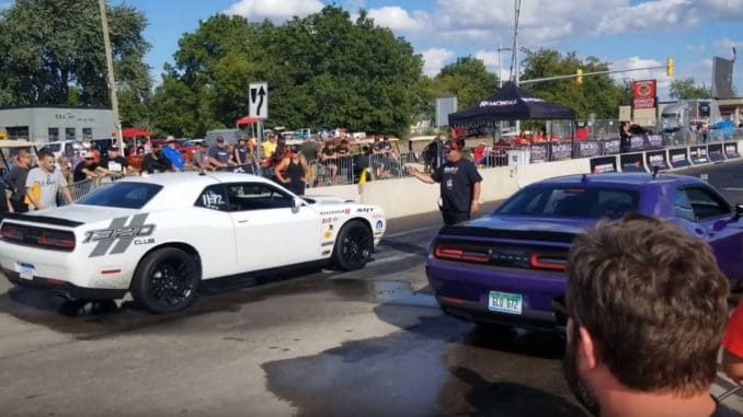 Roadkill Nights 2019 ~ Drag Racing on Woodward Ave