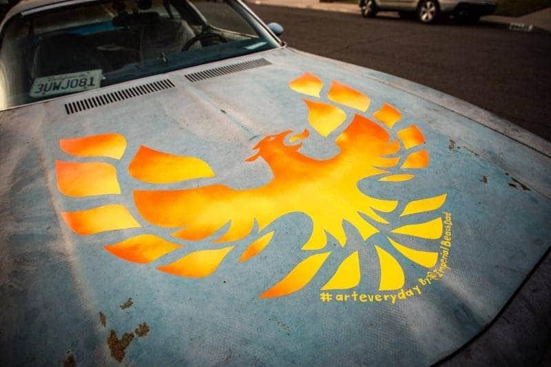 Surfin Bird 1975 Pontiac Firebird