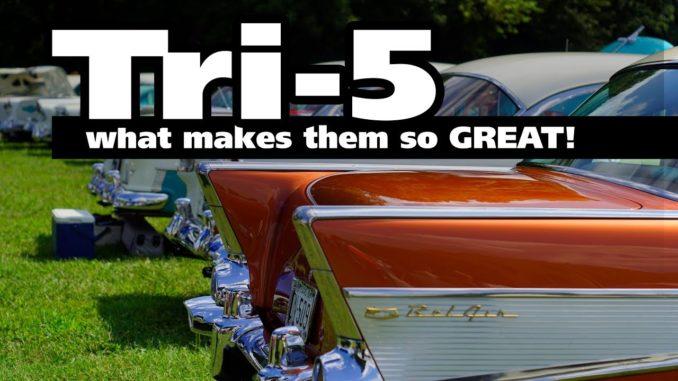 Tri-5 Chevrolet Cars
