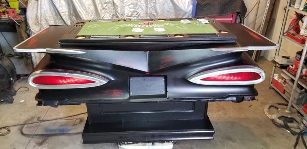 1959 Chevrolet Impala Casino Table and Bar