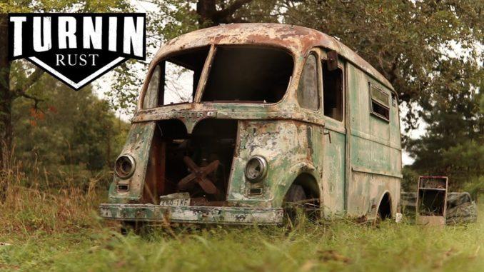 1960 International Metro Van Rescued After 30 Years