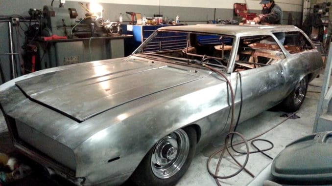 1969 Camaro Wagon