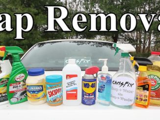 Best Tree Sap Removal Products