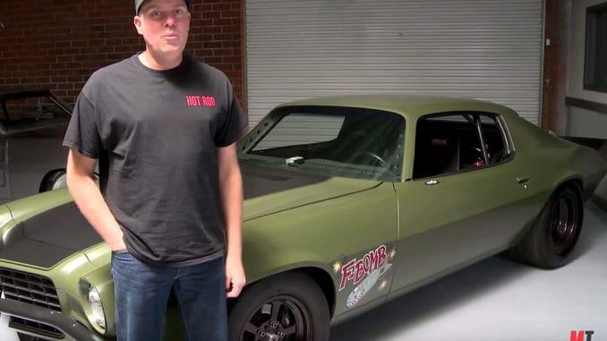 """David Freiburger's Twin-Turbo 1973 """"F-Bomb"""" Camaro"""