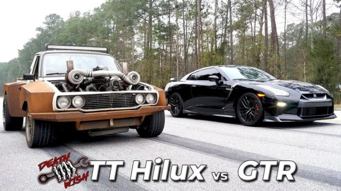 Deathwish ~ LS Twin Turbo Hilux Goes Drag Racing