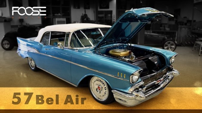 Foose Design ~ The Malone's 1957 Chevy Bel Air RestoMod