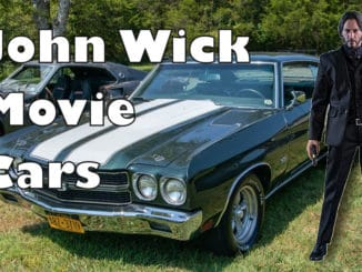 John Wick Movie Cars