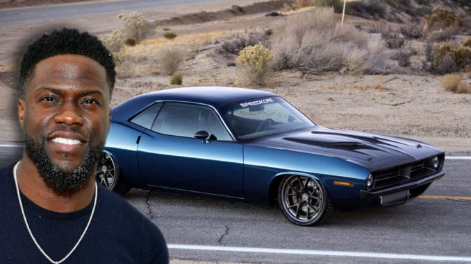 Kevin Hart's 1970 Plymouth Barracuda