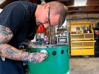 Making a Hot Rod Trash Can