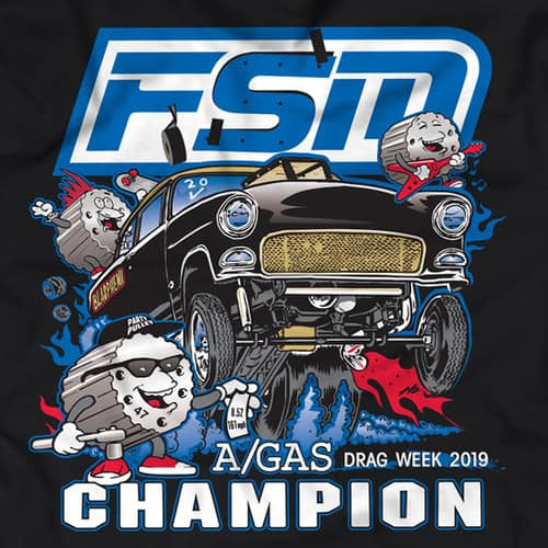 Mike Finnegan Speed and Marine Official The Party at Drag Week T-Shirt