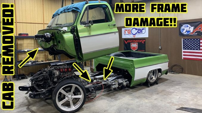 Gas Monkey Garage's Wrecked 1976 Chevrolet C10
