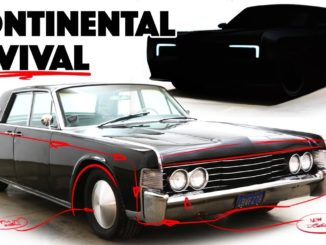 Redesigning the 1965 Lincoln Continental into a Modern Car