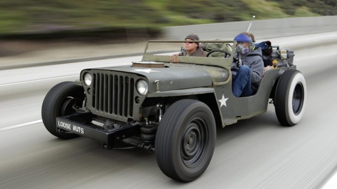 Roadkill Rat Rod Jeep Death-Wish Trip