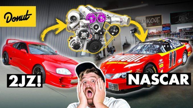 2JZ in a NASCAR