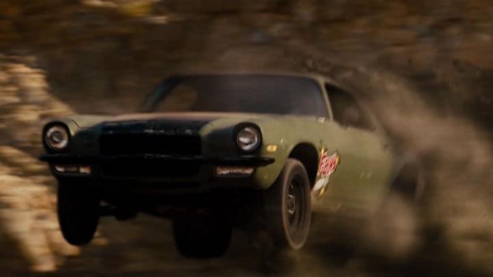 Vin Diesel's F-Bomb Camaro in Fast & Furious 4