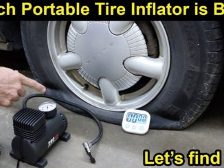 Which Portable Tire Inflator is Best?