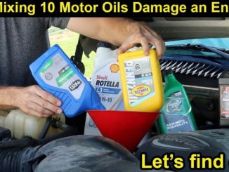 Will Mixing Motor Oils Damage an Engine