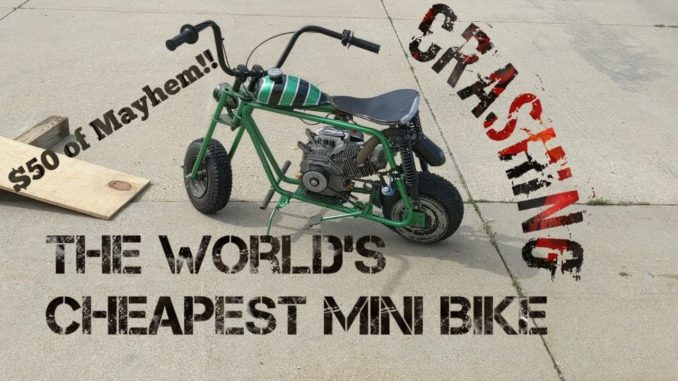 Wrecking and Reviving a $50 Mini Bike