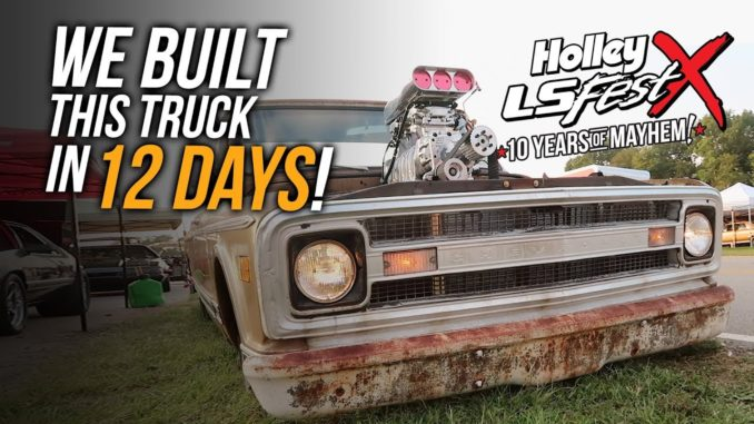 C10 Truck Built in 12 Days