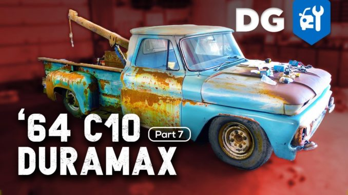 1964 C10 Duramax Swap ~ Cheapest DIY Remote Air Ride Control System