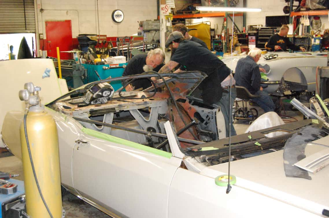 1966 Buick Riviera GS 425 Nailhead Build ~ Roof Chop In Progress