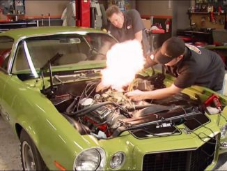 Rebuilding a 1970 Chevy Camaro RS/SS L78 396
