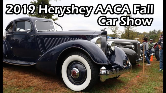 2019 Hershey Fall AACA Car Show