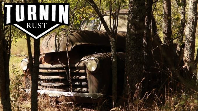 Abandoned 1952 Chevy 3100 Rescued After 40 Years In The Woods