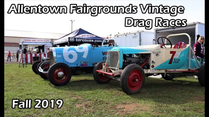 Allentown Fairgrounds Fall Vintage Drag Races