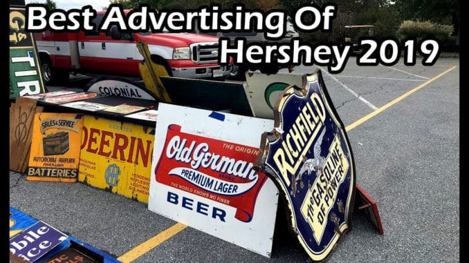 Best Advertising Of The Hershey AACA Swap Meet 2019