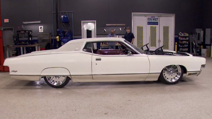 Dropping an 1,100 HP 1972 Mercury Marquis