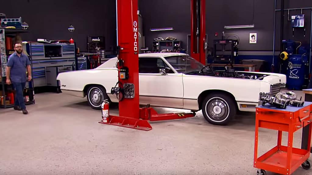 Dropping an 1,100 HP 1972 Mercury Marquis ~ Before
