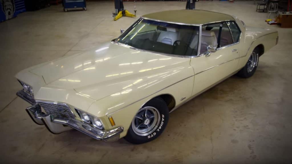 Gas Monkey Garage 1972 Buick Riviera SEMA Build ~ Before