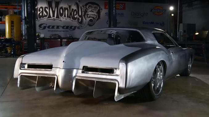 Gas Monkey Garage '72 Buick Riviera SEMA Build ~ Rear Diffuser