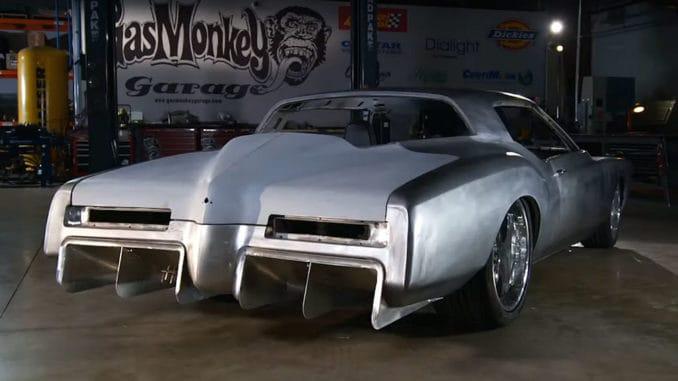 Gas Monkey Garage '72 Buick Riviera SEMA Build ~ Rear Diffuser