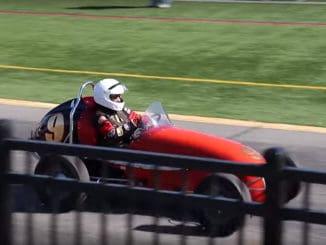 Hershey AACA Race Car Condition Run 2019