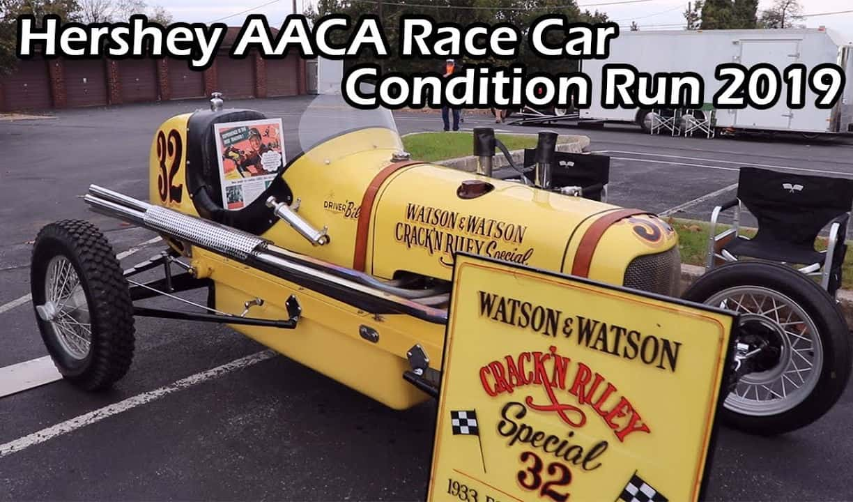 Hershey AACA Race Car Condition Run 2019