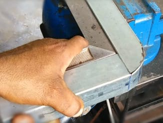 How To Cleanly Bend Box Tube 90°