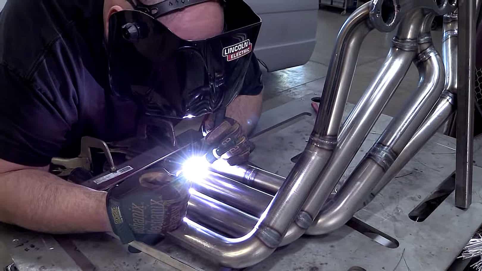 How To Fabricate Custom Zoomie Headers ~ Welding