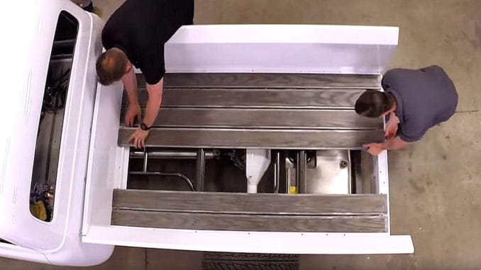 How To Install a Custom Wood Bed on an F100 Truck
